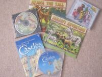 STORY/MUSIC/ EDUCATIONAL CD BUNDLE - Help get your child to sleep! (cassette tapes also)