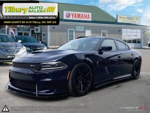 2016 Dodge Charger SRT HELL CAT!!!!!! LOW KMS. 850 HP.