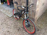 """Whyte 46 full suspension Mountain Bike - 17.5"""" (MTB, 26"""", Hope, DTSwiss)"""