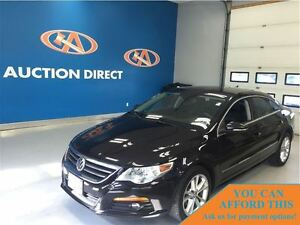 2012 Volkswagen CC CC Sportline LEATHER! BLUETOOTH, FINANCE NOW!