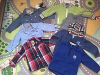 Bundle of boys clothes 30 items 12-18