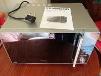 Kenwood 25 Litre Silver Conventional Microwave model K25MMS14 as new £50 collection only worth £150+