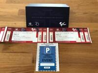 2 x Moto Gp Tickets for Silverstone 24th Aug to 26th Aug 2018
