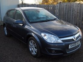 VAUXHALL ASTRA 2008 58 1.7 LTR TURBO DIESEL 1 YEAR MOT FULL HISTORY TIMING BELT & WATER PUMP DONE!!!