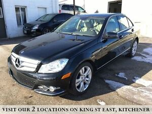 2013 Mercedes-Benz C-Class C300 | 4MATIC | SUNROOF | SPORT STEER