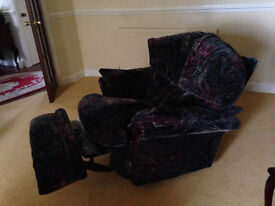 Sofa settee suite of 4