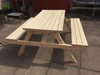 GARDEN BENCH/TABLE FOR SALE