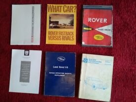 Old Rover books