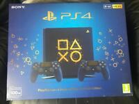 Ps4 slim - blue limited edition