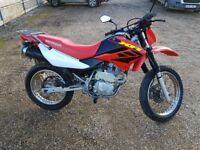 Honda XR 125 L-4 Lovely bike, great condition