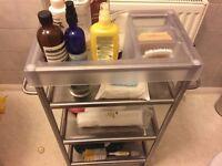 bathroom cabinet/ trolley