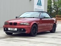 BMW 323I CONVERTIBLE FOR A QUICK SALE