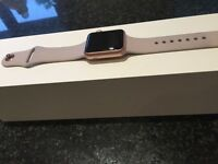 Apple Watch 38 mm Rose Gold / Lavender Sport Band - Boxed with charger