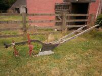 Antique Horse Drawn Plough