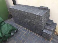 Grey drive bricks