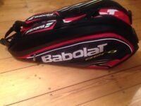 Babolat Aero Line 9 Pack racket bag in Red