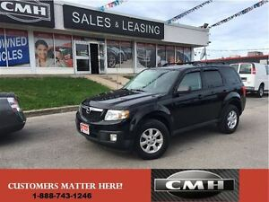 2010 Mazda Tribute GT 4X4 LEATH ROOF ALLOYS *CERTIFED*