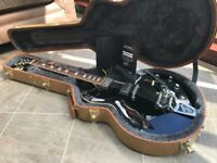 Gibson Memphis ES-330L - Limited Edition - Black - Bigsby - Hard Case