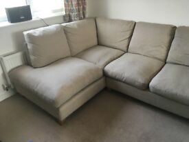 Laura ashley corner sofa