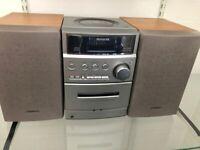 CD Tape radio player