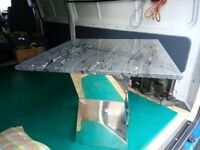 For Sale Square Marble coffee table.