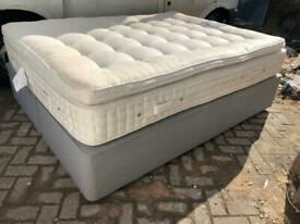 Quality kingsize divan bed with mattress £90 delivered
