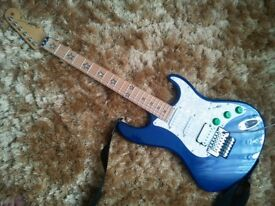 electric guitar Shine/Strat project