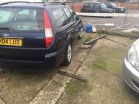 Mondeo Estate Ghia manual petrol