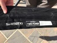 Shimano twin power 13ft 3 piece float rod