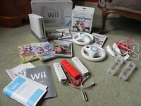 Nintendo Wii with sports and sports resort
