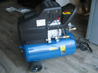 Aldi Workzone Air Compressor 2.5HP 24L 8-Bar 120psi 1.8kw Motor, 9.5CFM (270L/Min) Air Displacement