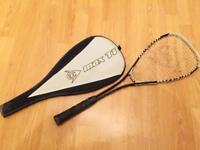 Dunlop Max Ti squash racquet