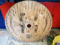 Cable spool top