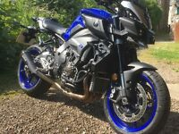 Yamaha MT10 With Extras, Mature owner.