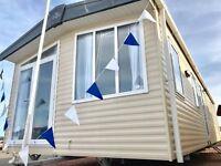 Static caravan for sale on Sandy Bay North Humberland Ashington Sea Views & NO AGE LIMIT