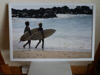 Picture of two surfers
