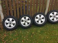 Bmw mini alloys & winter tyres