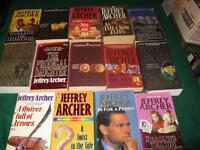 Jeffery Archer soft cover books $1 each or $10 for the lot