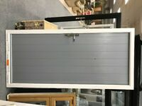 Brand new Solidor - French Grey outside / white inside