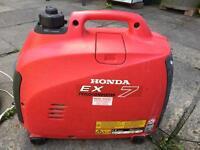 Honda suitcase generator ex7