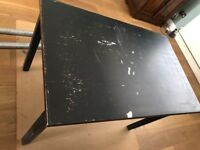 Free table - ideal for workshop or studio (110cm x 70cm approx)