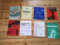 Collection of music books for piano and cello £20