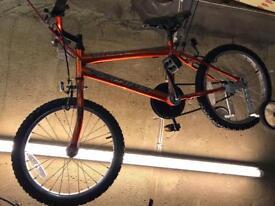 BMX style Bike - universal Platoon - bronze/orange colour