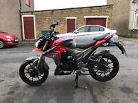 Brand new Lexmoto Viper 125cc EFI £2249 with 2 years warranty