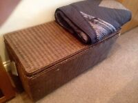 Habitat rattan trunk / chest / ottoman storage BRAND NEW