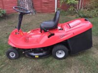 Castel Lawn King ride on lawn mower - excellent condition and full working order