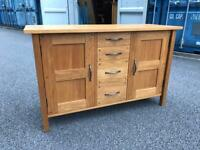 Laura Ashley solid oak sideboard possible delivery