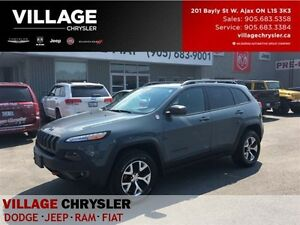 2015 Jeep Cherokee Trailhawk NAV|TOW|Leather|Panosuroof|Vent/Mem