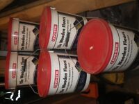 EVO STICK FLOOR CERAMIC TILE AND GROUT ADHESIVE 5 X 10LTR TUBS £25.00 THE LOT