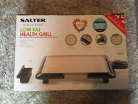 Salter low fat health grill Brand new!! BARGAIN